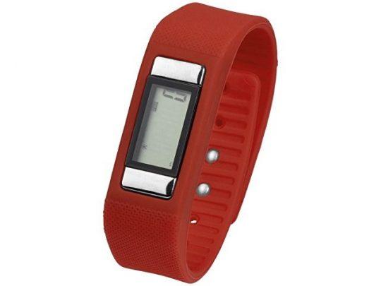 Часы-шагомер Get-Fitter, красный, арт. 017057003