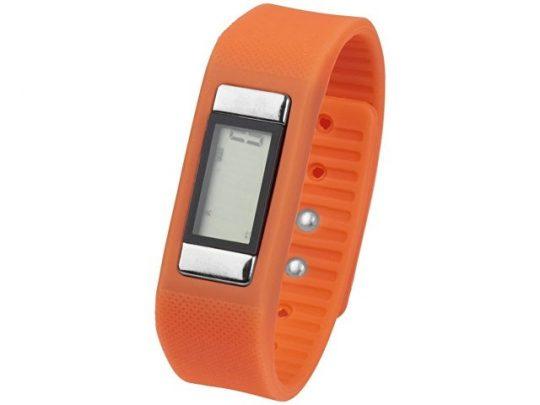 Часы-шагомер Get-Fitter, оранжевый, арт. 017057303