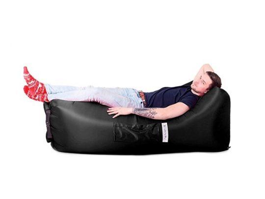 Надувной диван БИВАН 2.0, черный, арт. 016939003