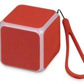 Портативная колонка Cube с подсветкой, красный, арт. 016988003