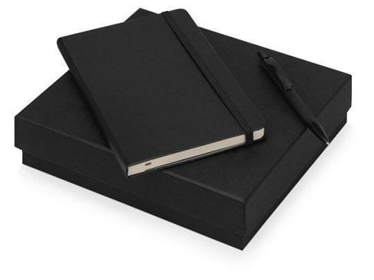 Подарочный набор Moleskine Sherlock с блокнотом А5 и ручкой, черный, арт. 017065403