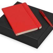 Подарочный набор Moleskine Indiana с блокнотом А5 и ручкой, красный, арт. 017066203
