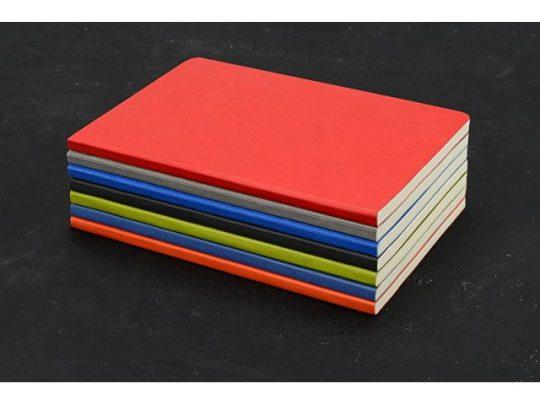 Блокнот Wispy линованный в мягкой обложке, черный, арт. 016978703