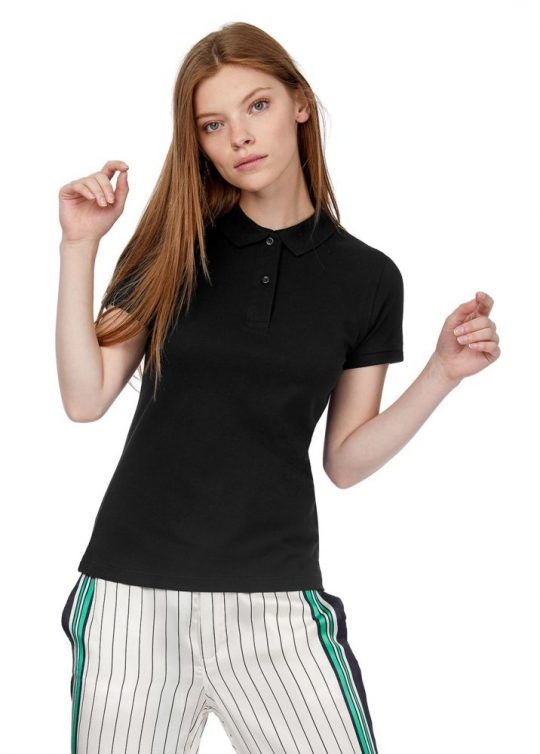 Рубашка поло женская Inspire зеленое яблоко, размер S