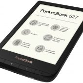 Электронная книга PocketBook 627, черная