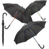 Зонт-трость с цветными спицами Colour Power, синий