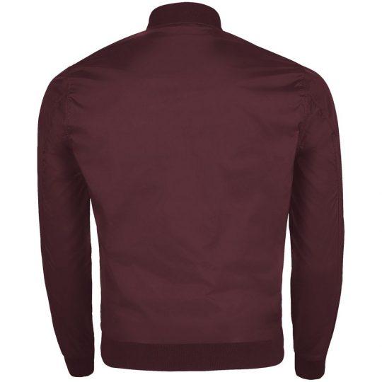 Куртка унисекс ROSCOE бордовая, размер S