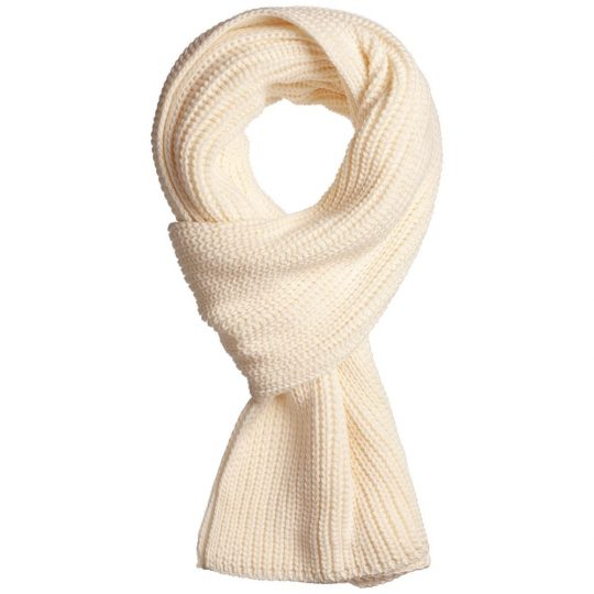 Набор Nordkyn Full Set с шарфом, молочно-белый, размер L
