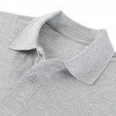 Рубашка поло мужская Virma Premium, серый меланж, размер S