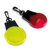 Светоотражатель с подсветкой Watch Out, красный