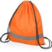 Рюкзак Россел, оранжевый с черными шнурками, арт. 017223003