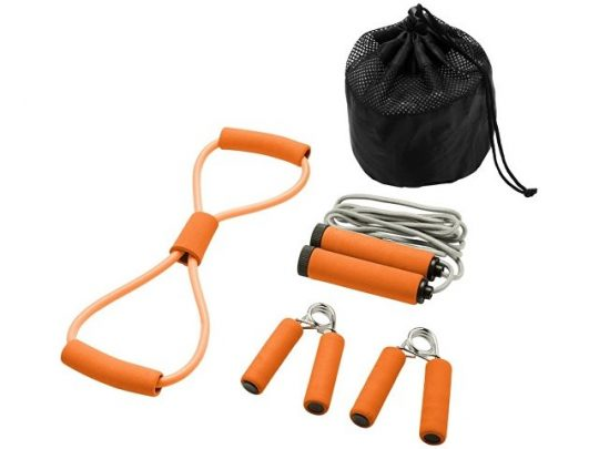 Набор для фитнеса Dwayne, оранжевый, арт. 017513903