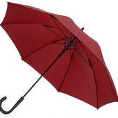 Зонт-трость Bergen, полуавтомат, бордовый, арт. 017389803