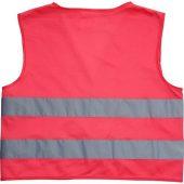 Сигнальный аварийный жилет See-me-too для непрофессионального использования,  неоново-розовый, арт. 017511603