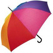 23-дюймовый ветрозащитный автоматический зонт Sarah, радужный, арт. 017508703