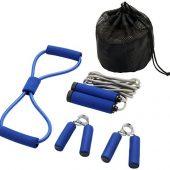 Набор для фитнеса Dwayne, синий, арт. 017513803