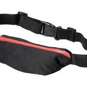 Эластичная спортивная поясная сумка Nicolas, красный, арт. 017514103