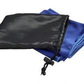 Охлаждающее полотенце Peter в сетчатом мешочке, синий, арт. 017513403