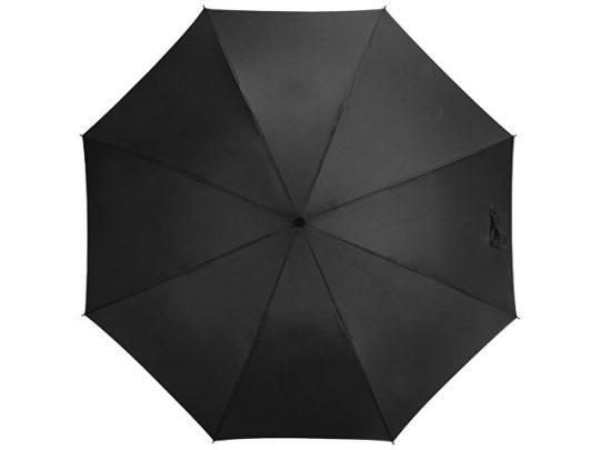 Зонт-трость Bergen, полуавтомат, черный, арт. 017390003