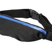 Эластичная спортивная поясная сумка Nicolas, синий, арт. 017514203