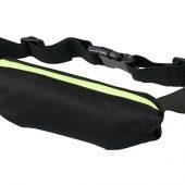 Эластичная спортивная поясная сумка Nicolas, лайм, арт. 017514403