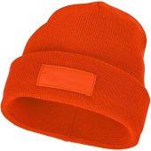 Шапка Boreas с нашивками, оранжевый, арт. 017450103