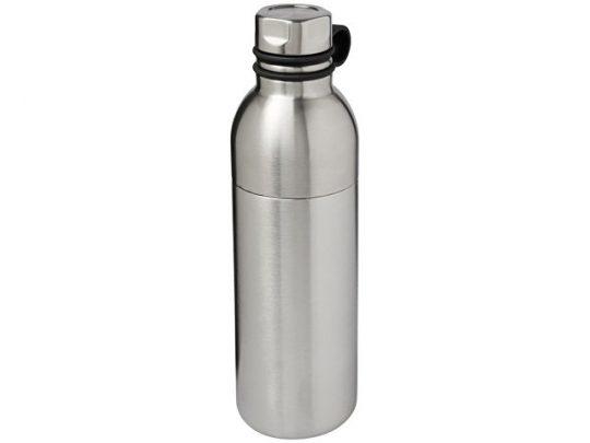 Медная спортивная бутылка с вакуумной изоляцией Koln объемом 590мл, серебристый, арт. 017491703