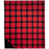 Ультра-плюшевый плед Buffalo, красный, арт. 017491503