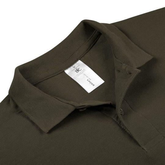 Рубашка поло ID.001 коричневая, размер S