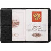 Обложка для паспорта dotMODE, черная