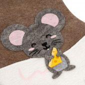 Носок для подарков Noel, с мышкой