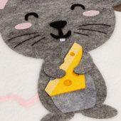Мешок для подарков Noel, с мышкой
