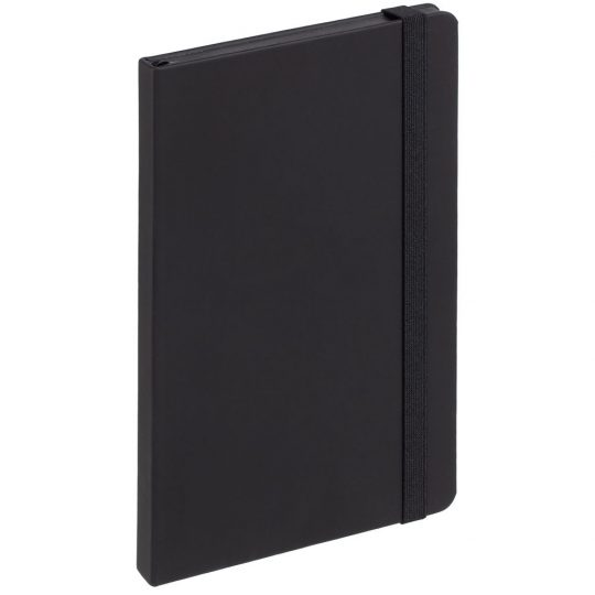 Блокнот Shall, черный