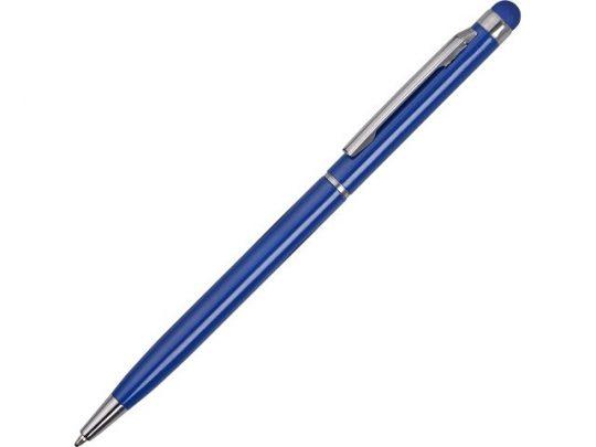 Ручка-стилус металлическай шариковая Jucy, синий, арт. 017836603