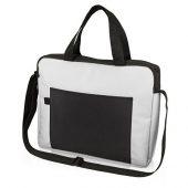 Конференц сумка для документов Congress, белый/черный, арт. 017899603