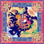Платок Конёк – Горбунок, арт. 017752403