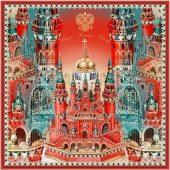 Платок Кремль – Москва – Фаберже, арт. 017752903