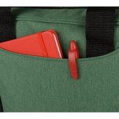 Сумка для ноутбука Wing с вертикальным наружным карманом, зеленое яблоко, арт. 017904703