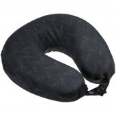 Подушка дорожная Hard Work Black, черная