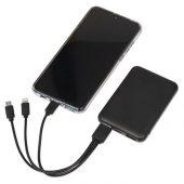 Портативное зарядное устройствоGrind, 5000 mAh, черный, арт. 017865103