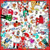 Платок Дымковская игрушка, арт. 017752803
