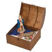 Подарочный набор Ксения: кукла, платок, арт. 017926003
