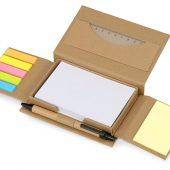 Канцелярский набор для записей Stick box, натуральный, арт. 017884803