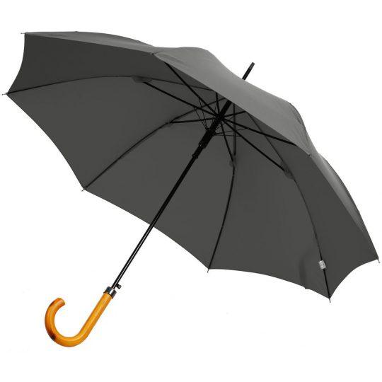 Зонт-трость LockWood ver.2, серый