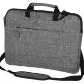 """Сумка Plush c усиленной защитой ноутбука 15.6 """", серый, арт. 017964303"""