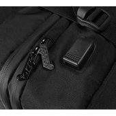 Водостойкий рюкзак-трансформер Convert для ноутбука 15, черный, арт. 017982103