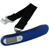 Дорожные весы onBoard Soft Touch, синие