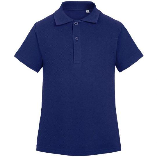 Рубашка поло детская Virma Kids, темно-синяя, 10 лет