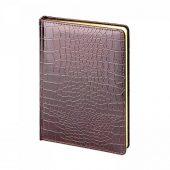 Ежедневник недатированный А5 CAIMAN, коричневый, арт. 018138803