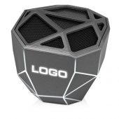 Портативная колонка Geo, мокрый асфальт + белая подсветка, арт. 018115003